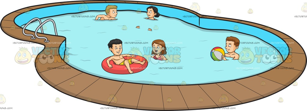 Swimming Pool Cartoon Images | Free download on ClipArtMag