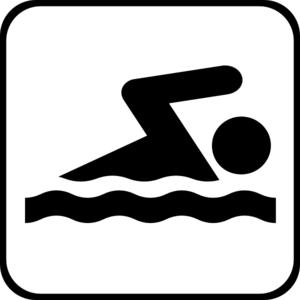 300x300 Swimming Icon Clip Art