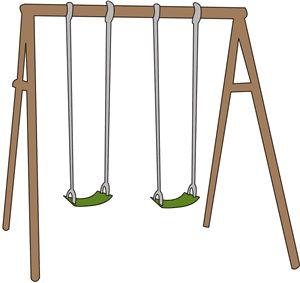 300x283 Swing Clipart Swing Set