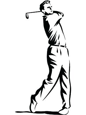300x400 Swing Clipart Pin Swing Sketch 1 Free Golf Swing Clipart