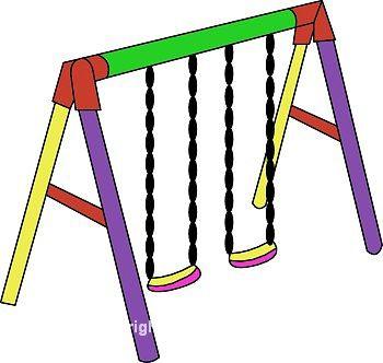 Swing Set Clipart