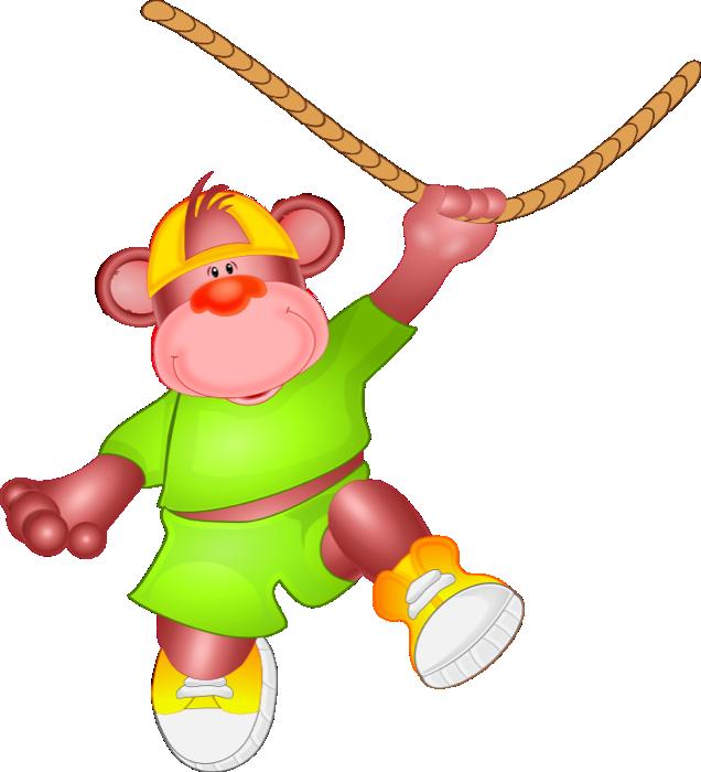 636x700 Free Monkey Clipart