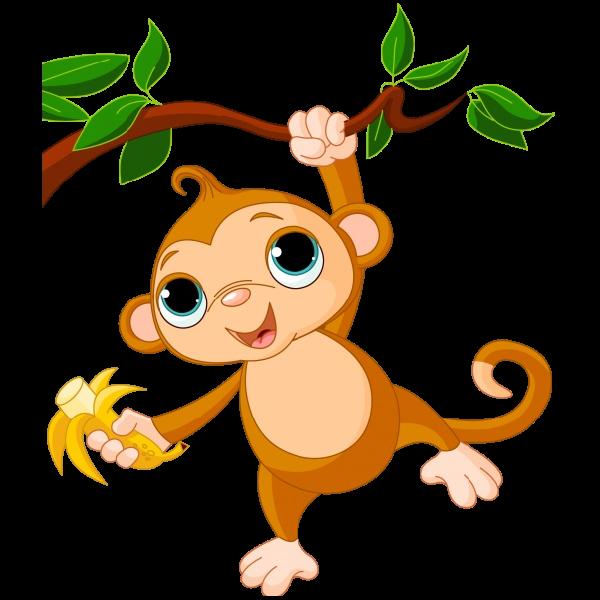 600x600 Monkey Images Clip Art