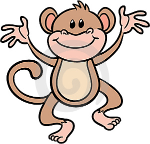 300x289 Swinging Monkey Clipart For Your Website Clipartmonk