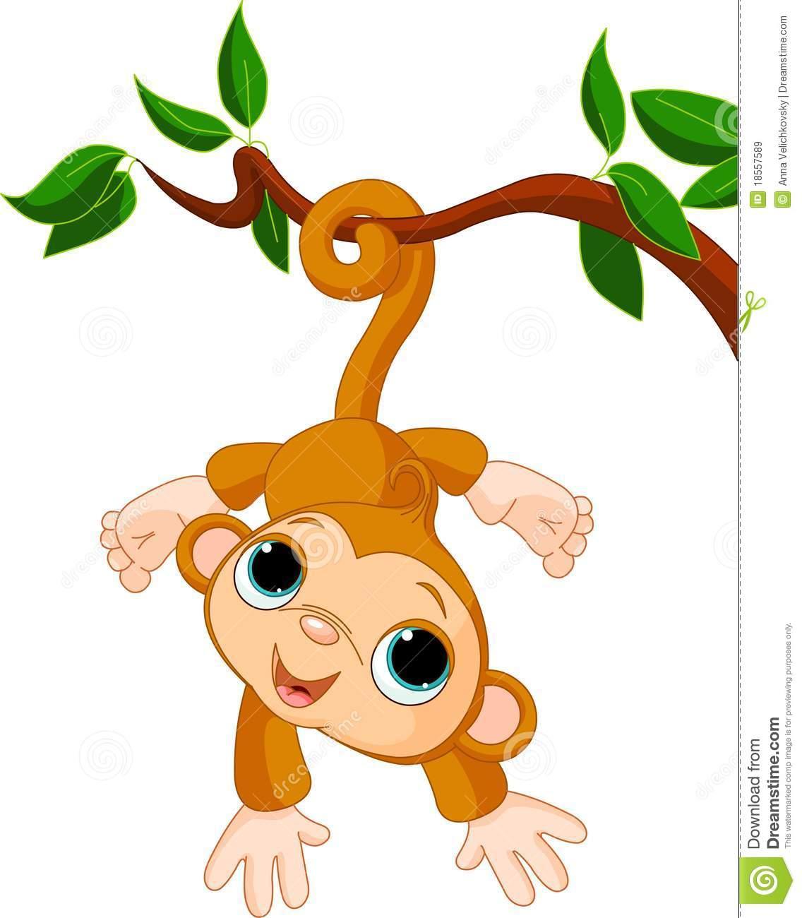 1136x1300 Girl Monkey Clip Art Monkey In A Tree Clipart Baby Monkey Tree