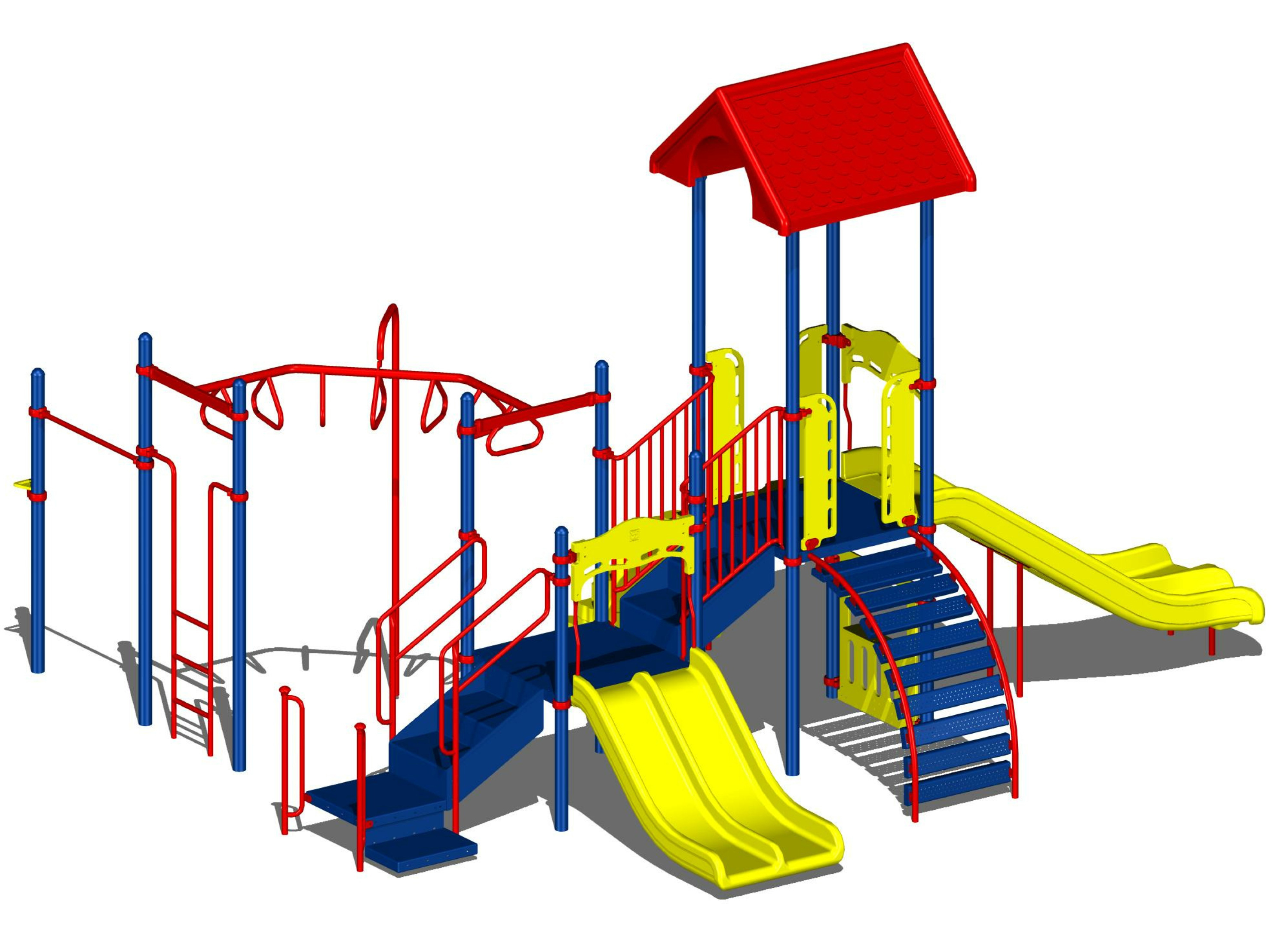 2980x2215 Cartoon Playground Clipart