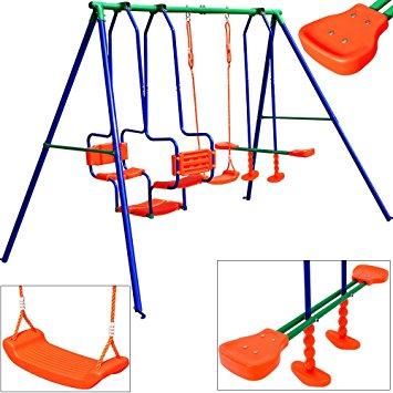 355x355 Swing Set Xxl 5 Children