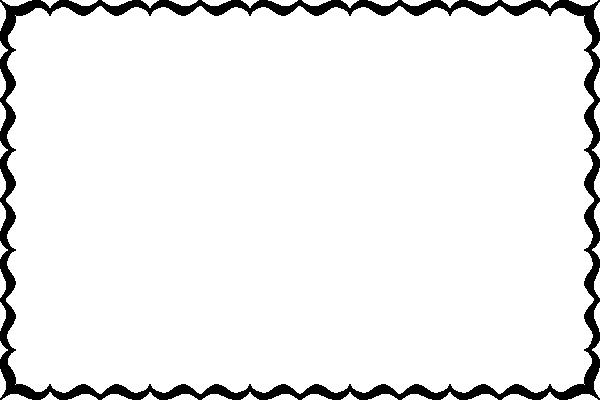 600x400 Swirl Border Clip Art