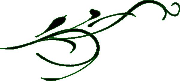 600x270 Fancy Border Clip Art Swirl Swirl