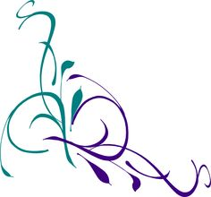 236x220 Simple Swirl Designs Png Corner Swirl Clip Art