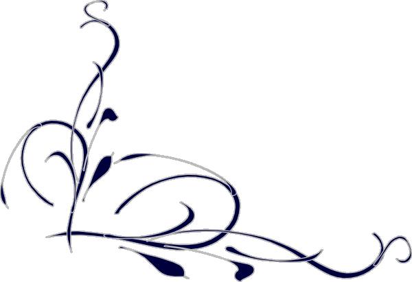 600x411 Wedding Swirl Clip Art, Free Wedding Swirl Clip Art