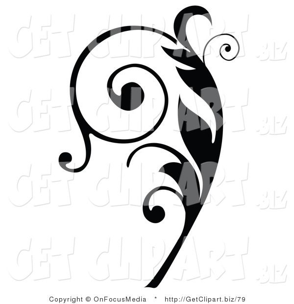 Swirls And Curls Free Clipart