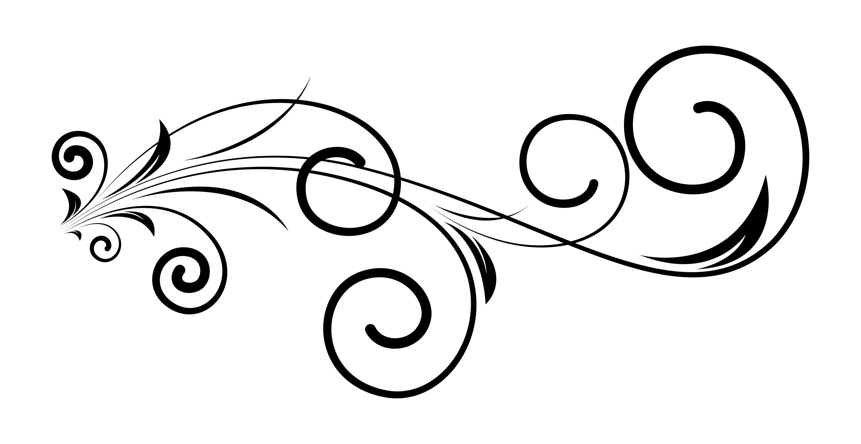 Swirly Designs Clipart Free Download Best