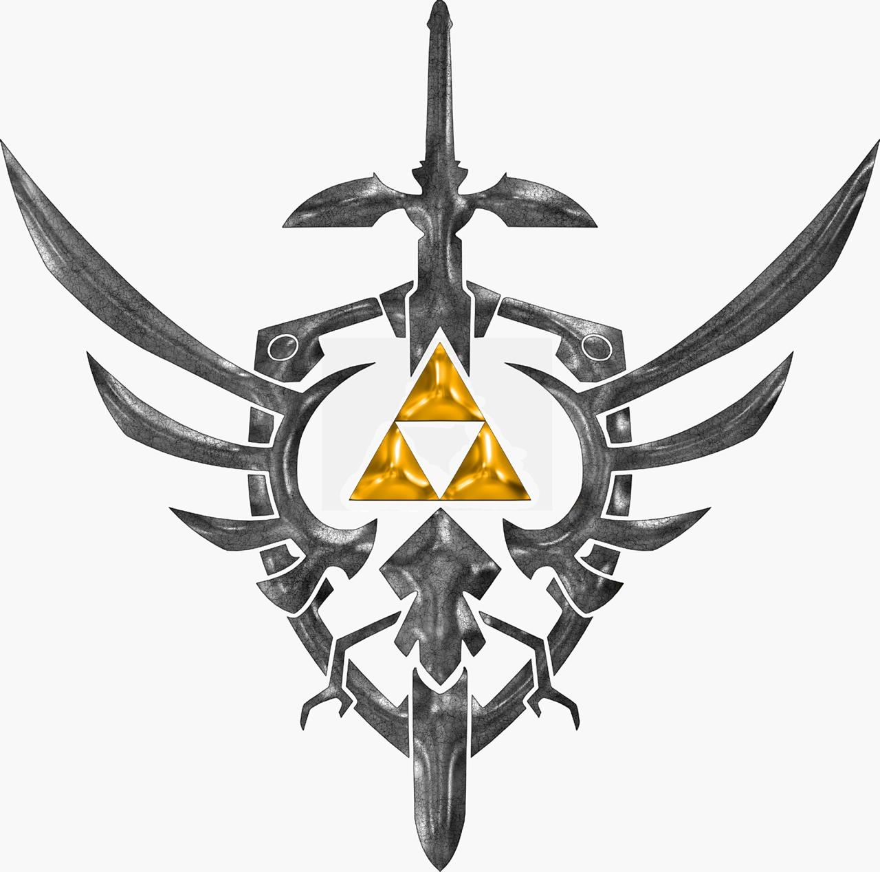 1280x1268 Sword, Shield Amp Tri Force Zelda Tattoo, Gaming