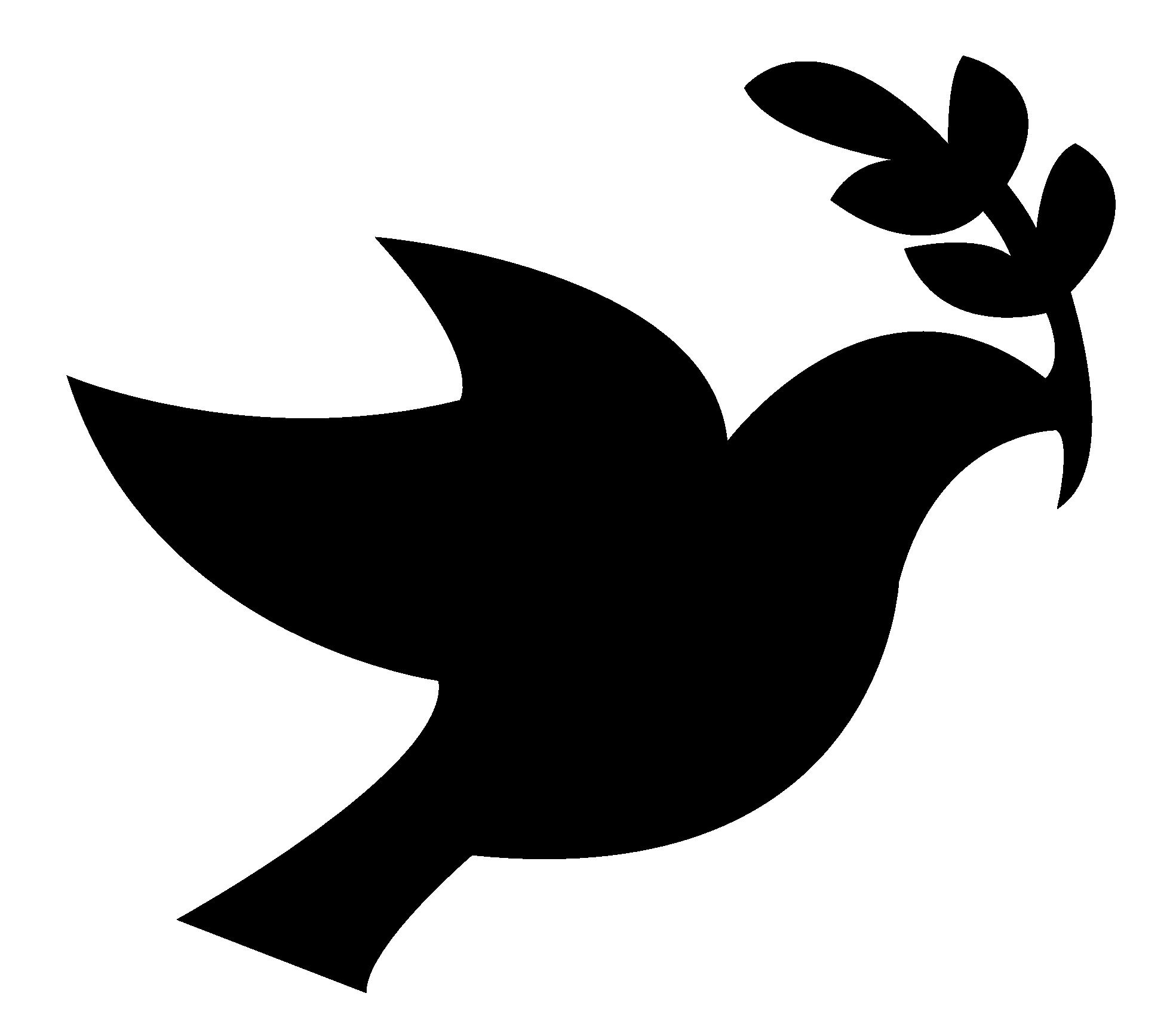 1969x1724 White Dove Clipart Peace Symbol