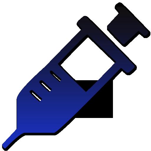 512x512 Medical Syringe Symbol Clipart Image