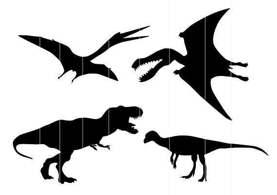 570x403 Dino Svg, Dinosaur Svg Silhouette Clipart, Tyrannosaurus Rex Svg