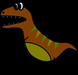 299x288 Dino Very Simple Bd Style T Rex Clip Art