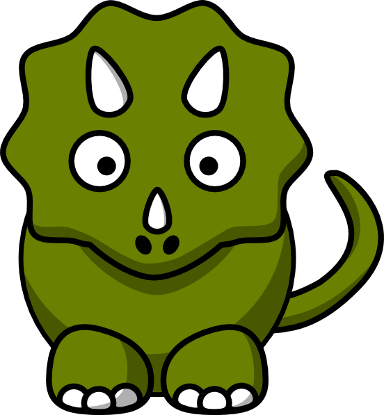 552x597 Dinosaurs T Rex Smile Clipart