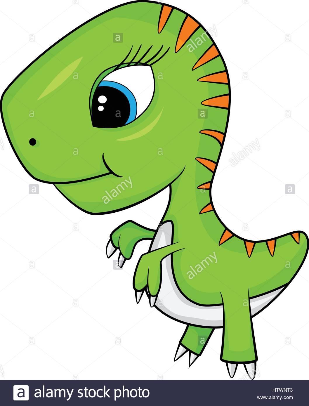 1058x1390 Illustration Of Cute Cartoon Of Baby T Rex Dinosaur. Vector Eps 10