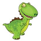 140x140 Clip Art Image Gallery Similar Image Cartoon T. Rex Dinosaur