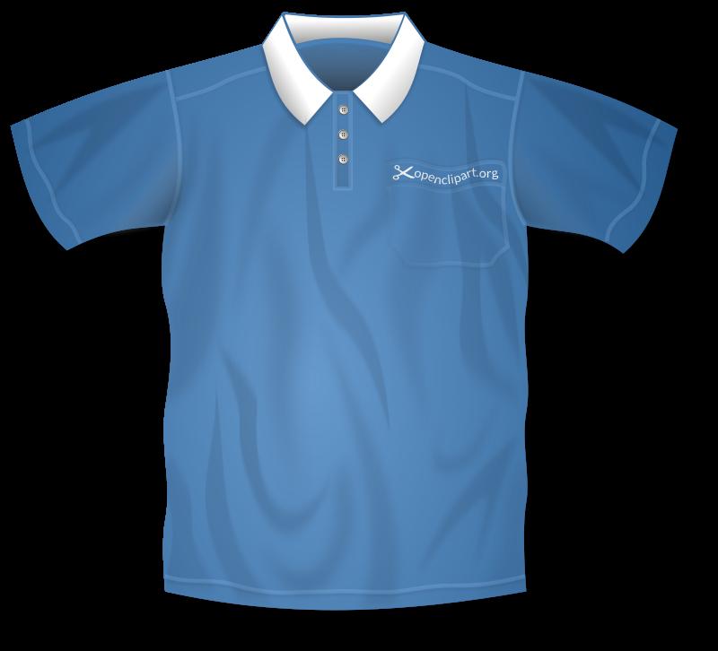 800x726 Free Blue Polo Shirt Clip Art