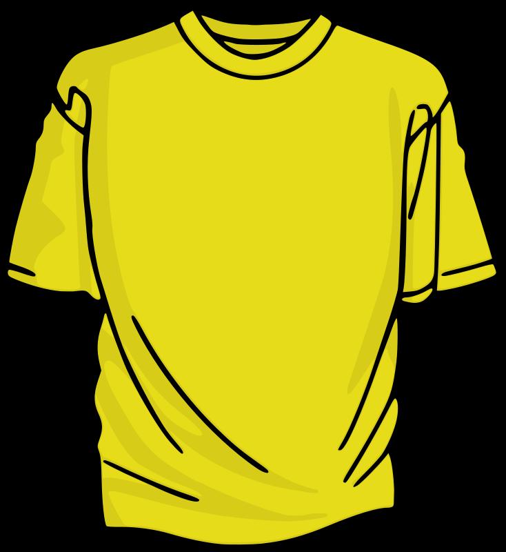734x800 T Shirt Clip Art