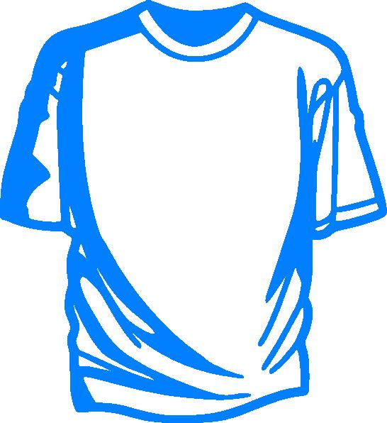 546x596 Light Blue T Shirt Clip Art