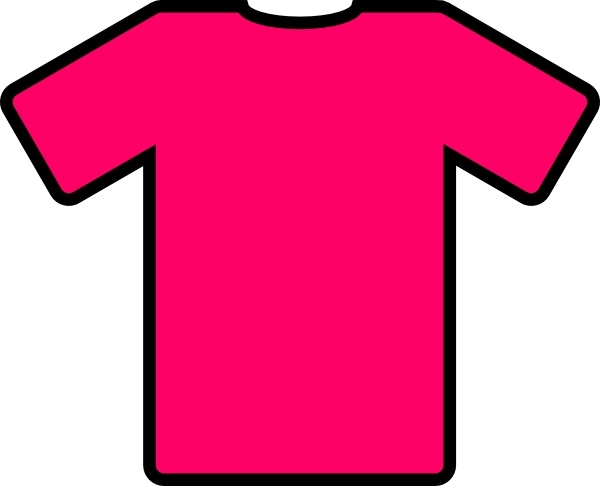 600x486 Pink T Shirt Clip Art Free Vector In Open Office Drawing Svg