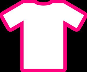 299x246 Pink T Shirt Thick Clip Art