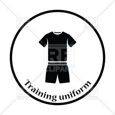 400x400 Silhouette Of Shorts And T Shirt