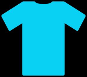 298x264 Blue T Shirt Clip Art