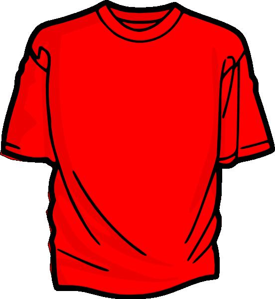 552x599 T Shirt Cartoon Clipart