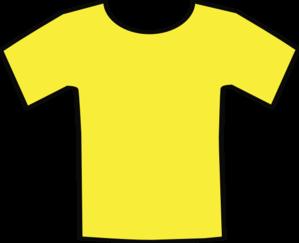 299x243 Yellow T Shirt Clip Art