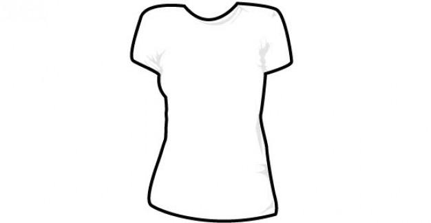 edea3b23512 T Shirt Outline Template | Free download best T Shirt Outline ...