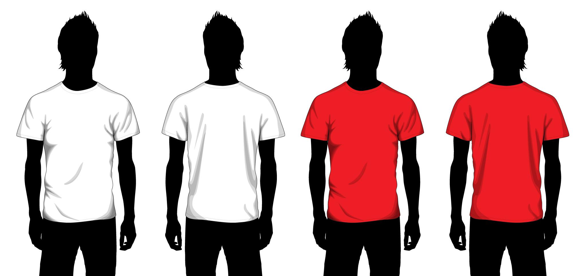 t shirt photoshop template - Leon.escapers.co