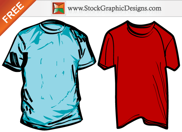 T Shirt Template Clipart