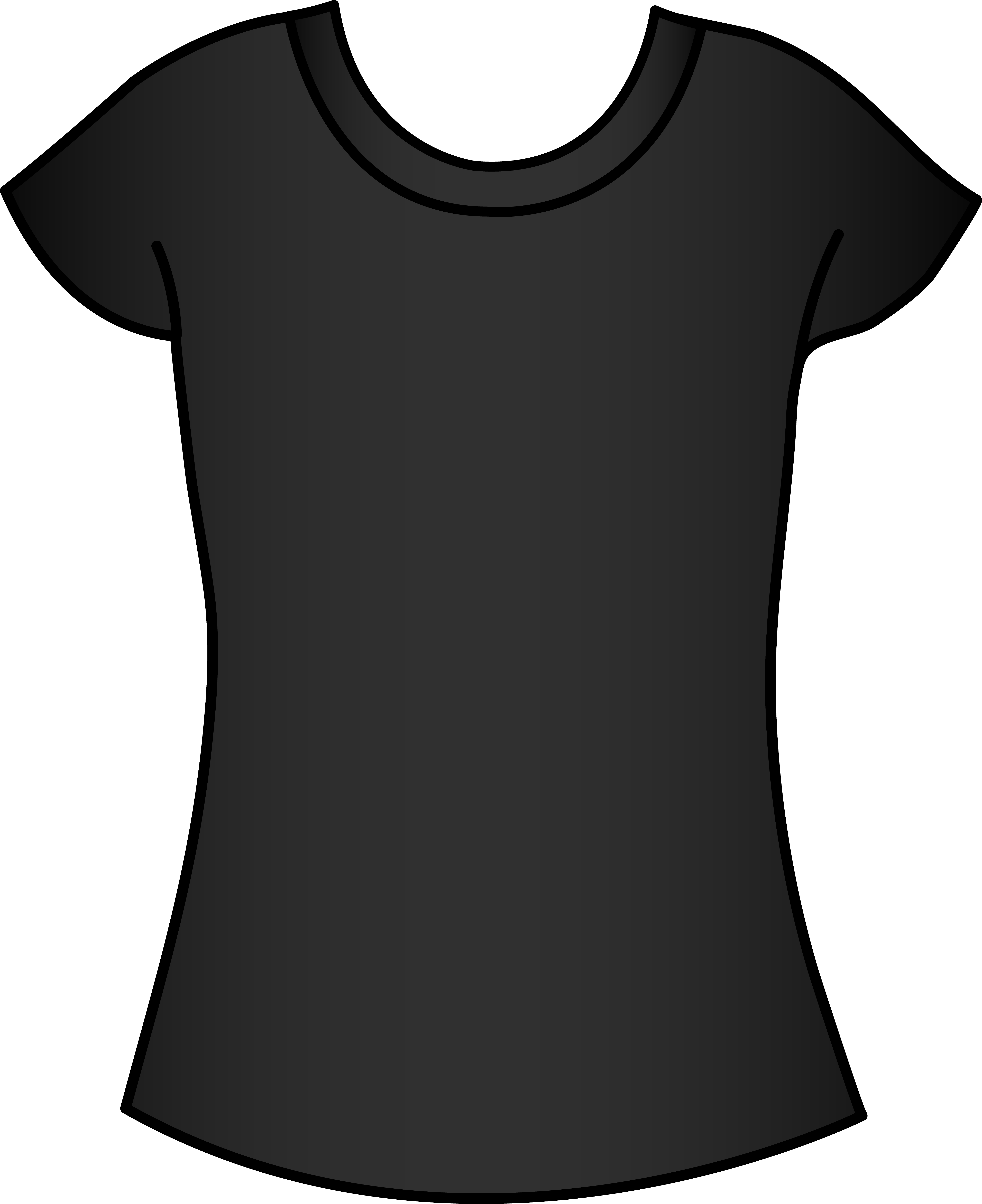 T Shirt Template Clipart | Free download on ClipArtMag