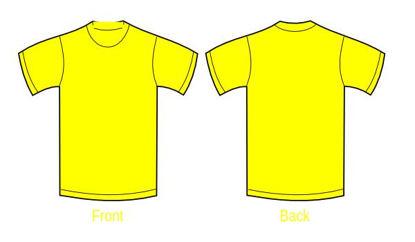 t shirt template clipart free download best t shirt template
