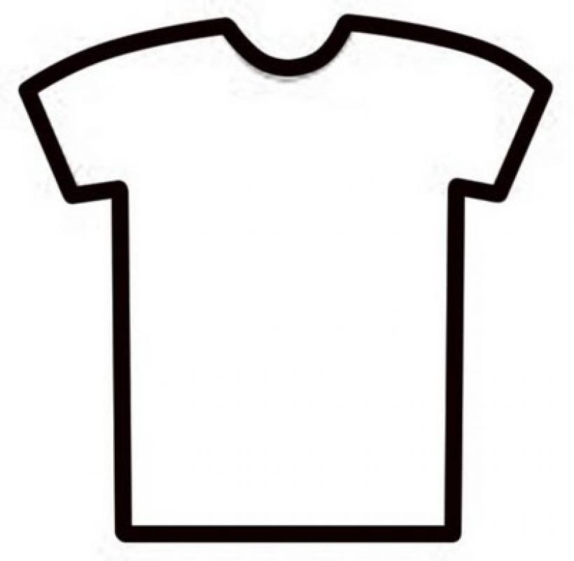 820x801 Free T Shirt Template Clipart Best Regarding Clipart T Shirt
