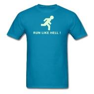 190x190 Caution Clip Art Run Like Hell T Shirt Spreadshirt