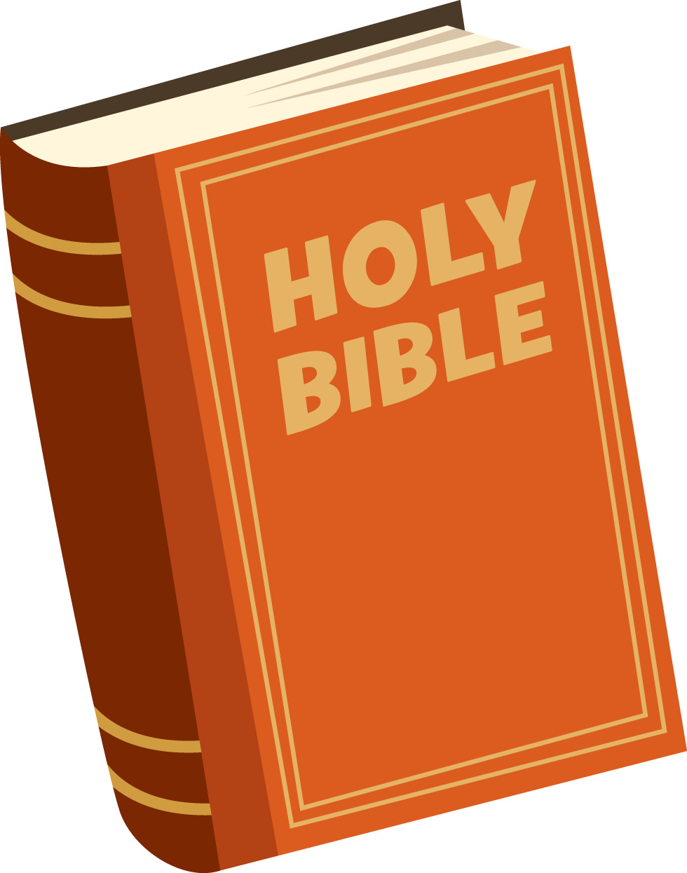 980x1245 Brown Clipart Bible