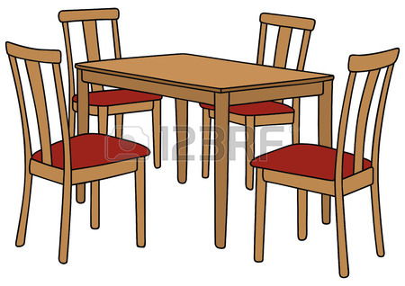 Table And Chairs Clipart