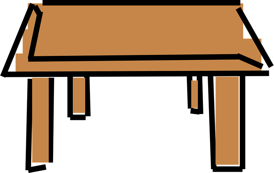 Table Cartoon Clipart Free Download Best Table Cartoon