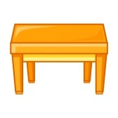 168x168 Table Clipart Table Clip Art 21953916 Wooden Table Isolated
