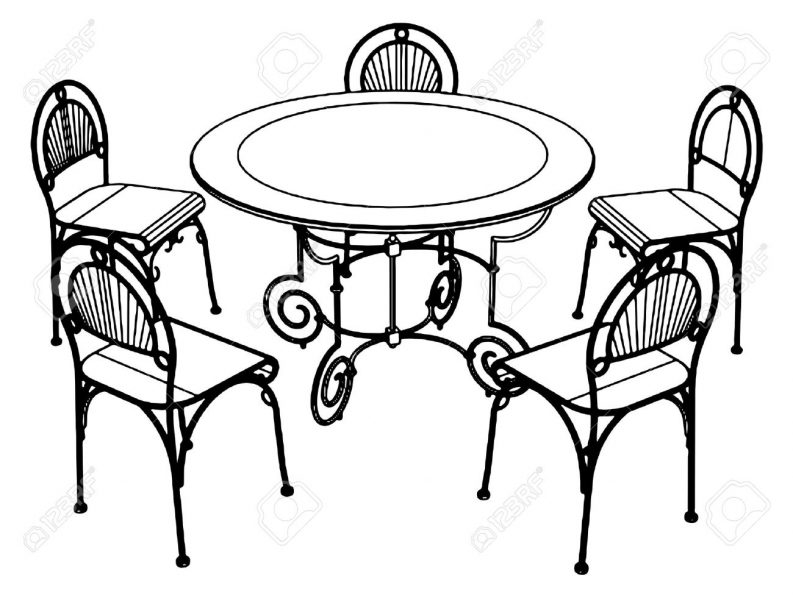 793x598 Furniture Delightful Chairs Clipart Black And White Chair Clip