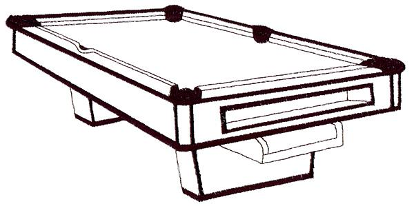 600x299 Pool Table Pictures Clip Art 32