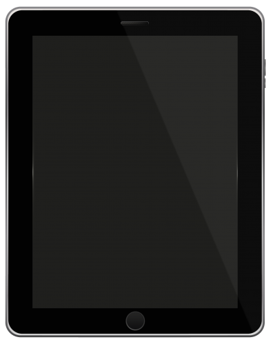 393x500 Black Tablet Png Clipart Layne Clip Art