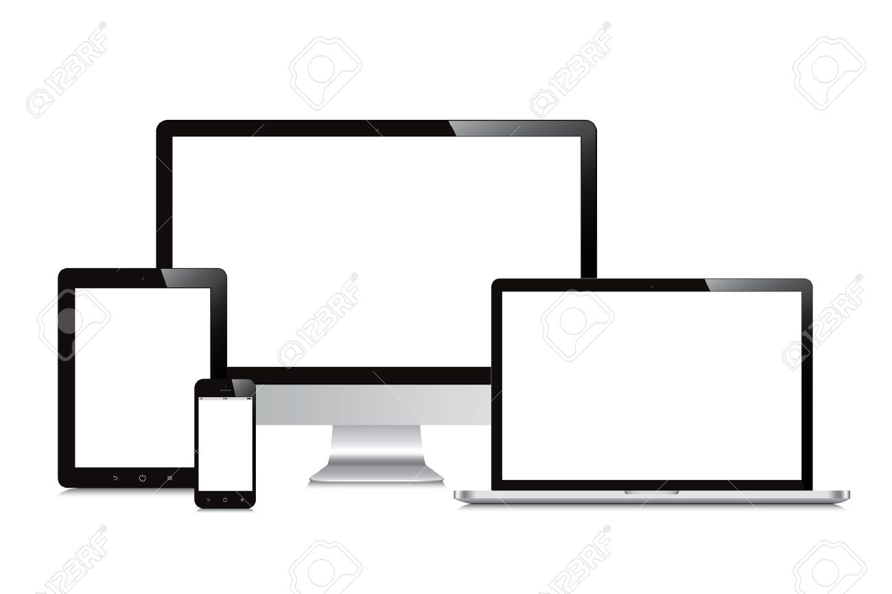 1300x866 Laptop, Smartphone, Tablet, Computer, Display Isolated Mockup