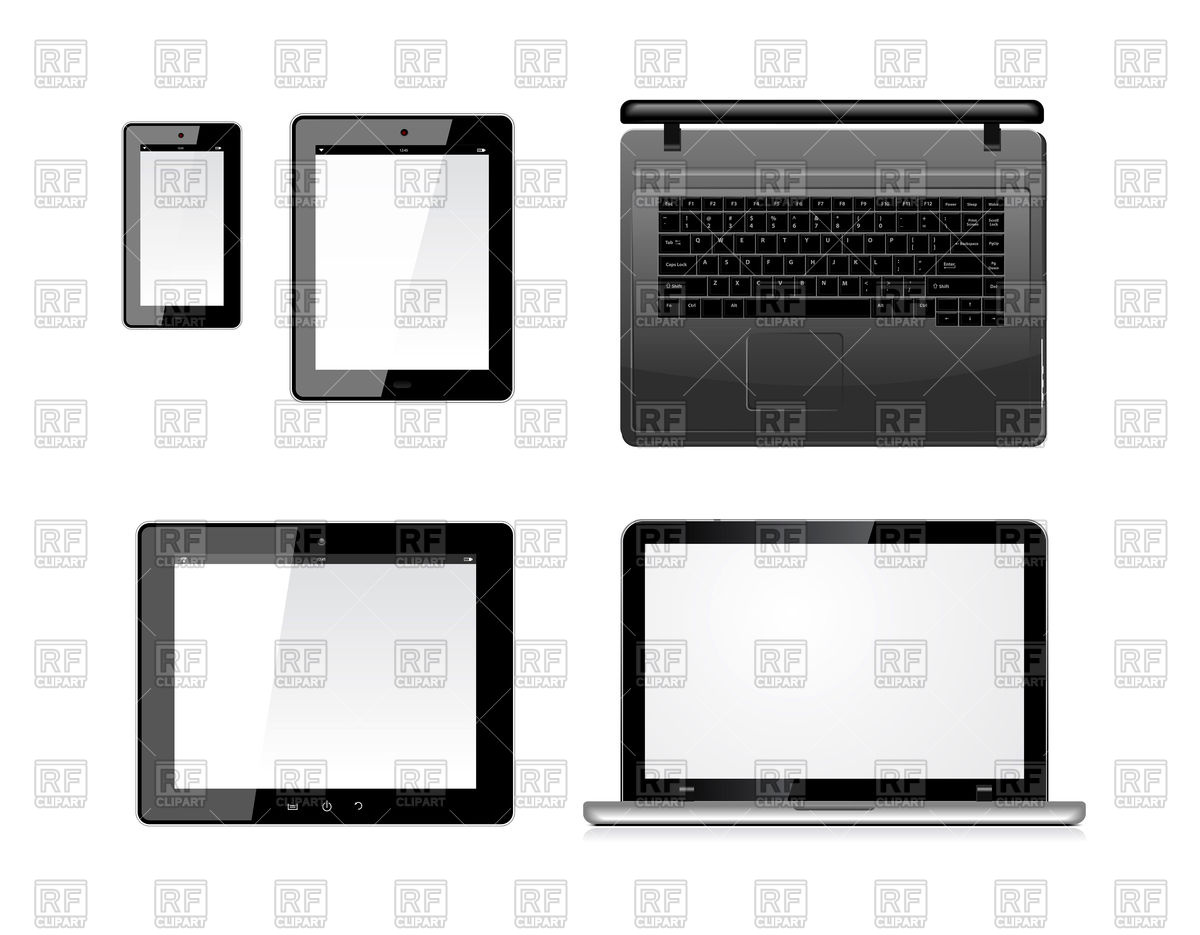 1200x935 Laptop, Tablet Pc Computer And Mobile Smartphone Royalty Free